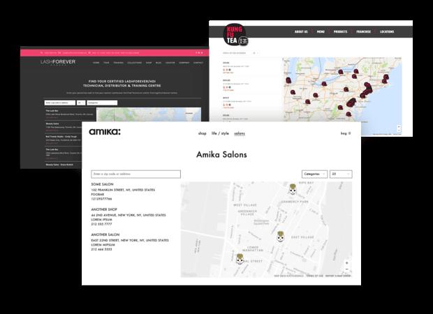Lightspeed store locator app demo